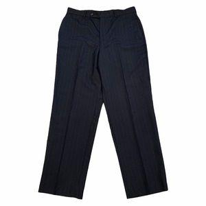 Jos. A. Bank Wool Dress Pants Pin Stripe 34 x 31